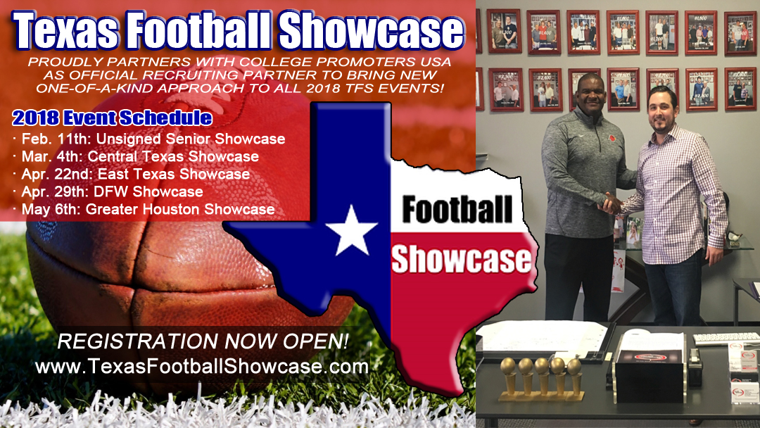 CPUSA Inks Exclusive Partnership with Texas Football Showcase