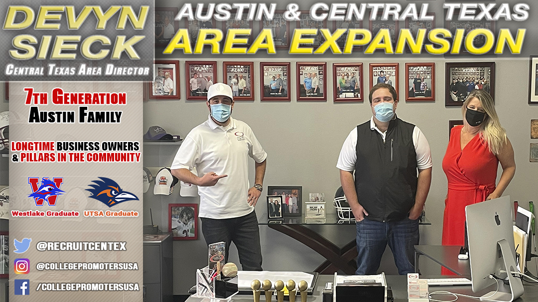 AUSTIN / CENTRAL TEXAS EXPANSION IS COMPLETE!